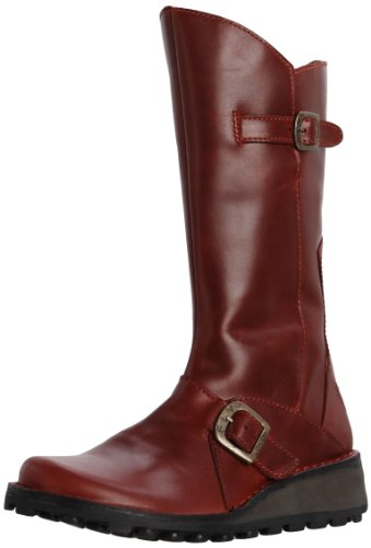Fly London Mes, Women's Boots, Red, 7 UK