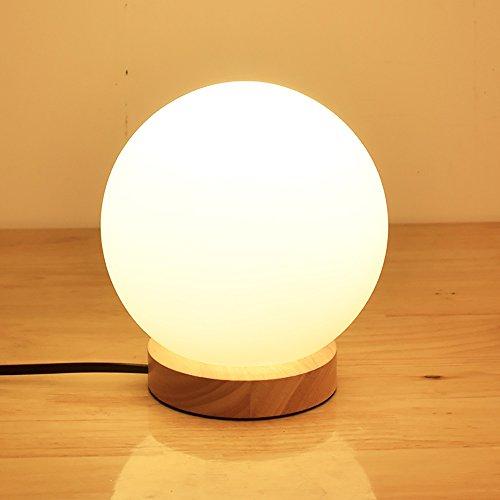 TOYM UK Simple créatif woody alimentation nuit bureau lampe de chevet petite lampe de bureau
