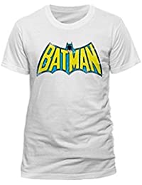 BATMAN - ORIGINAL LOGO DISTRESSED - OFFICIAL WOMENS T SHIRT