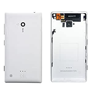 TOTTA Replacement Battery Back Cover For Nokia Lumia 720- White