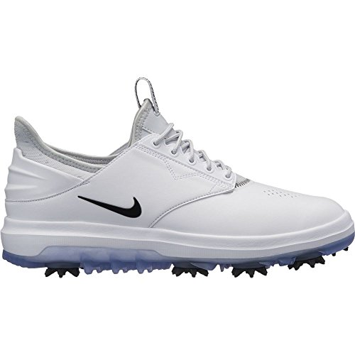 Nike Wmns Air Zoom Direct, Scarpe da Golf Donna, Multicolore (White/Black-Metallic 100), 38.5 EU