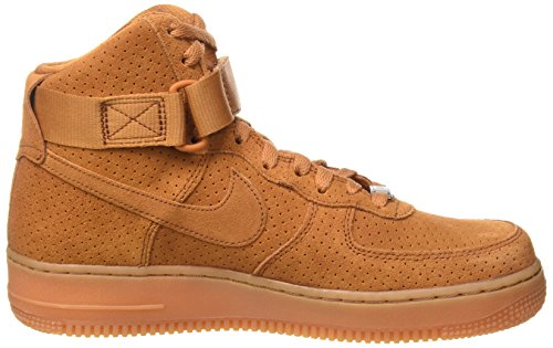 Nike Wmns Air Force 1 Hi Suede, Chaussures de Sport Femme brown (Tawny/Tawny)