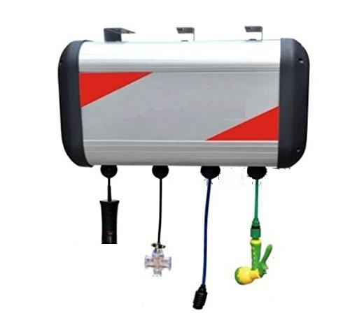 Gowe 4combiné Tank, Omposite Boîte de Automotive Enrouleur de tuyau, Auto restauration de machine à rouler plomberie tuyaux C