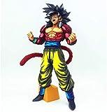 Statua del Giocattolo Dragon Ball Statua del Giocattolo Collezione di Personaggi dei Cartoni Animati Keepsake Saiyan Giocattolo Modello Super Saiyan 4 Sun Wukong 34CM Colore Comico