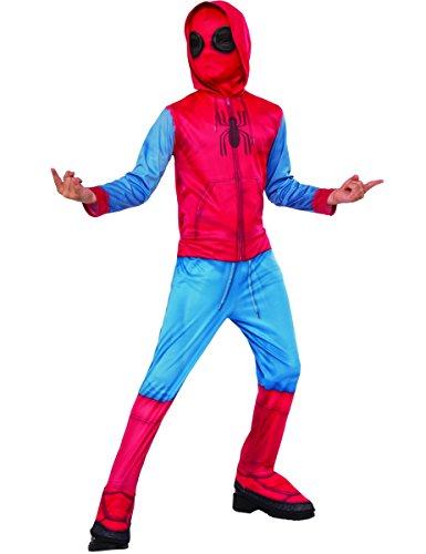 Generique - Kostüm Spider-Man Homecoming mit Überstiefeln für Kinder (Anzug Spiderman)
