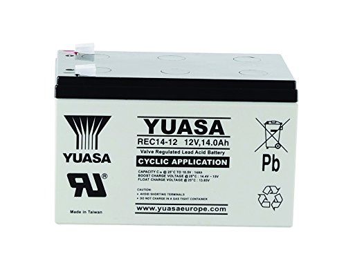 Yuasa - Batteria piombo AGM REC14-12 12V 14Ah