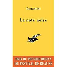 La note noire - Prix du premier roman du festival de Beaune 2009 (Masque Jaune t. 2520)