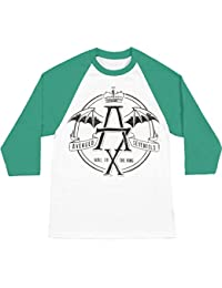 Bravado Avenged Sevenfold St. Patrick de Hail To The Kings Raglan T-shirt pour homme