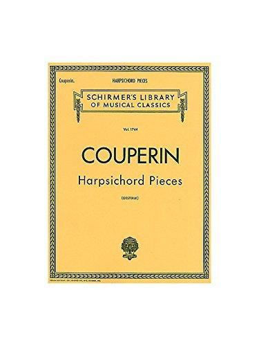 Francois Couperin: Harpsichord Pieces. Partitions pour Clavecin