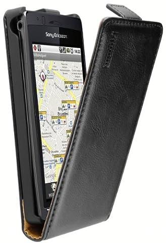 mumbi PREMIUM Cuir Housse Sony Ericsson Xperia Arc / Xperia