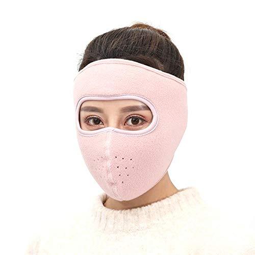 PIONIN Warme Maske,Winddichte Polar Fleece Gesichts-Warmhaltemaske Für Das Radfahren Im Winter