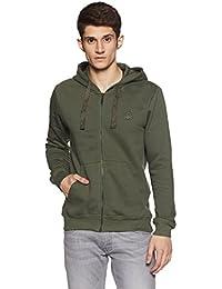 United Colors of Benetton Men's Cotton Sweatshirt (17A3S44J8002I903M_Green_M)