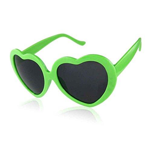 Forbestest Liebe Nette Herz-Form-Entwurf Unisex Sonnenbrille