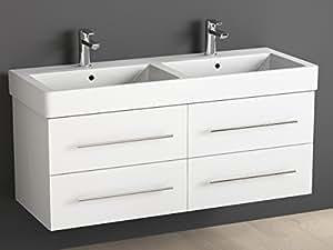 Aqua bagno mobile bagno 120 cm con doppio lavabo bagno in - Aqua mobili bagno ...