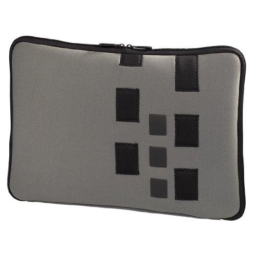 Hama Neopren Notebook-Cover Cuboid für MacBook bis 43 cm (17 Zoll) grau