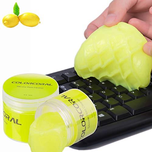 Pulizia Gel ColorCoral Universal Dust Keyboard Cleaner per PC Tablet Laptop Tastiere, Prese d\'aria, Telecamere, Stampanti, Calcolatrici, Cellulari, Altoparlanti, Schermi e altre superfici