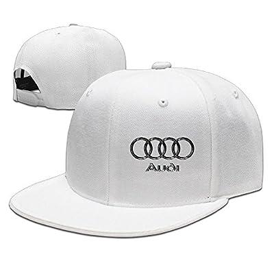Hittings VW Audi Logo Baseball Cap Hip-Hop Style White von Hittings bei Outdoor Shop