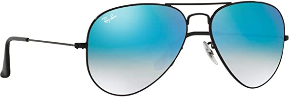 Ray-Ban Aviator unisex Sunglasses, RB3025-002/4O-55 55-14-140