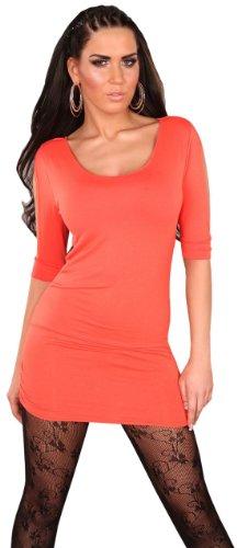 En style femme avec chaîne &wasserfalloptik taille unique (32–38) Orange - Corail