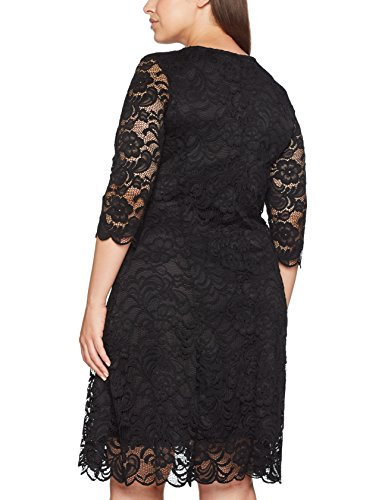 Junarose Damen Kleid Schwarz (Black Beauty)