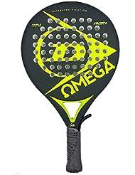 Dunlop Omega Pala Racchetta da Tennis, Unisex adulto, Fluor, non Trasferello