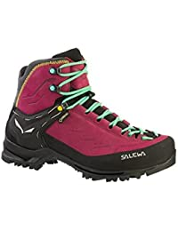 Womens Ws Rapace Gore-Tex High Rise Hiking Boots, Tawny Port-Limelight, 4.5 UK Salewa