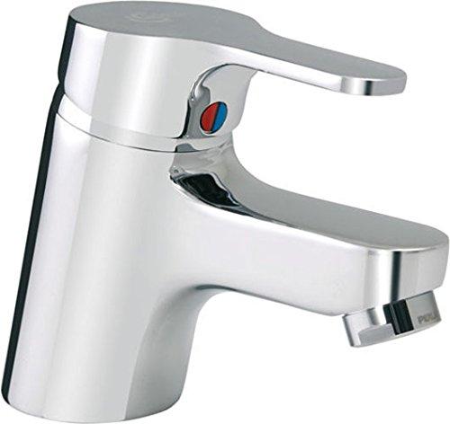Preisvergleich Produktbild Ideal Standard B8575AA Waschtischarmatur Slimline II verchromt mit Ablaufgarnitur