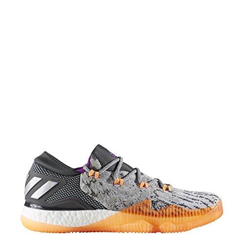 adidas Herren Crazylight Boost Low 2016bb8384Trainer Einheitsgröße Grey/Orange/White