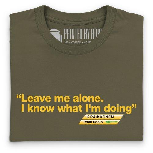 Kimi Raikkonen 3 T-Shirt, Herren Olivgrn