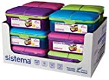 Sistema Lunch Slimline Quaddie Lunch Box...