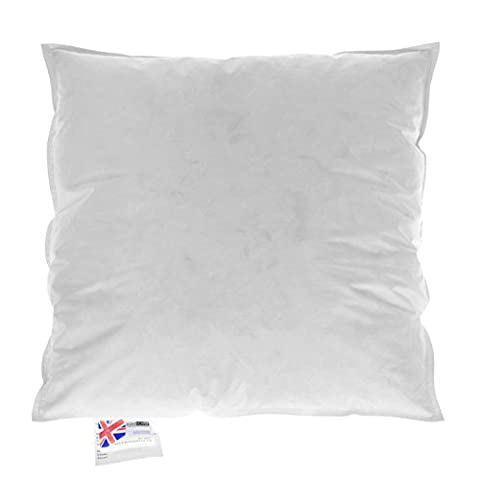 Homescapes - Luxury New White Duck Feather Cushion Pad Inner Insert 26 x 26