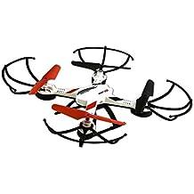 Ninco Sport HD - Drone (batería de li-ion, distancia de funcionamiento de 80 m, velocidad máxima de 30 pps) color negro y rojo