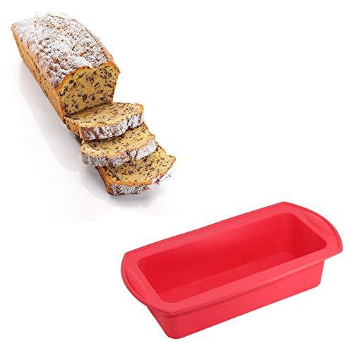 TAOtTAO Hochwertige Silikon gebackene Kuchenform für Kuchen und Brot jeder Art
