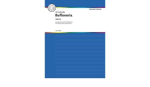 Buffoneria Scherzo Laburda Jirí   clarinet in Bb and accordion 9790202964330