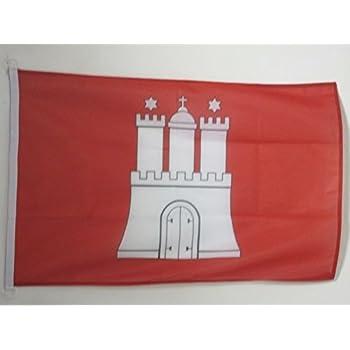 Flagge Hamburg Nr Fahne 1 30 x 45 cm