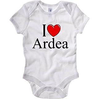 Baby Bodysuit White TLOVE0030 I Love Heart ARDEA White