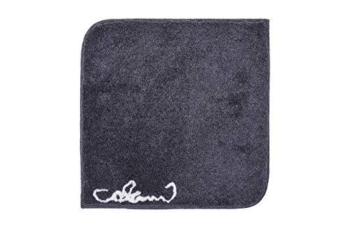 Grund COLANI Exklusiver Designer Badteppich 100% Polyacryl, ultra soft, rutschfest, ÖKO-TEX-zertifiziert, 5 Jahre Garantie, Colani 40, WC-Vorlage o.A. 60x60 cm, anthrazit
