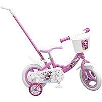 TOIMSA 1025–Bicicleta para niños (con caña de desviación bajo Licencia Minnie Mouse 10Pulgada (de 2a 3años