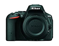 Nikon D5500 DX-format Digital SLR Body (Black) with card and D-SLR BAG