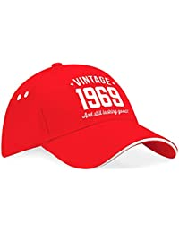 Amazon.co.uk  Red - Baseball Caps   Accessories  Clothing 99668f3dfe83