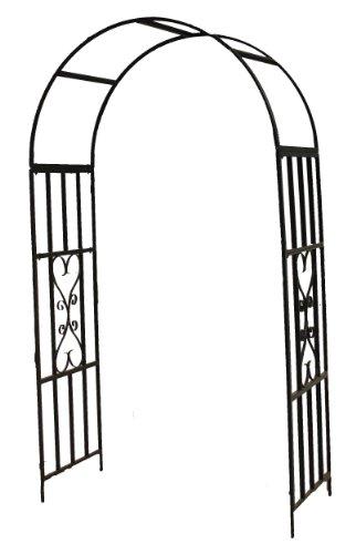 Rosenbogen 'Toulouse', Rankhilfe, Pergola, für alle Rankpflanzen, Metall