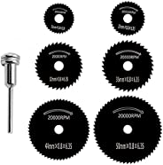 7pieces Saw blades fit drill bits for cutting wood, plastic, fiberglass, sheet metal, copper and thin aluminum