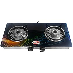 Bright Flame 2 Burner Gas Stove - Series Compact with Digital Printing