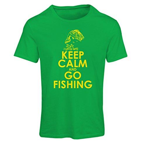 Frauen T-Shirt Fischenkleid, lustiges Fischergeschenk, Spaßzitate (Small Grün Mehrfarben) (Jubiläum T-shirt Fitted)