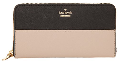 Kate Spade Damen Geldbörse Cameron Street Lacey tusk/Black PWRU5073B-913