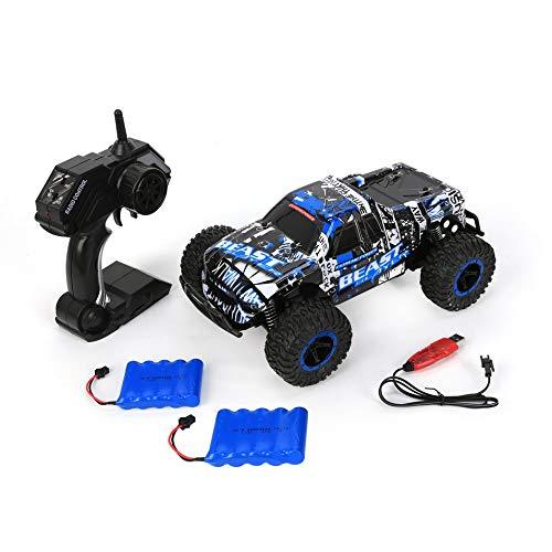 PETUNIA Deer Man 1 16 2.4GHz Telecomando Modello 25KM / H Fuoristrada 500mAh Auto da Arrampicata Cross Country Veicolo Giocattolo 2 batterie Blu
