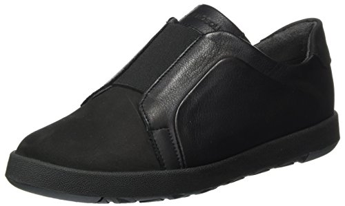 Aerosoles Damen Ship in MIX Nubuck Slipper, Schwarz (Black/Black), 40 EU (6.5 UK) (Aerosoles Leder)