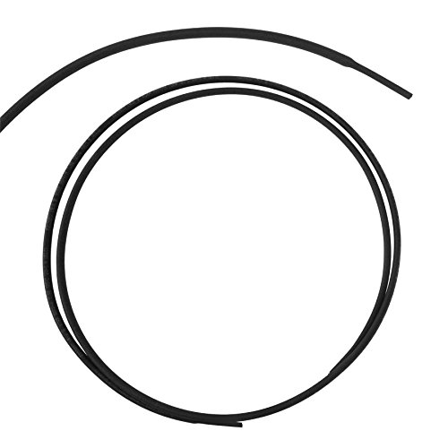 Mieder hüfthalter schwarz thermorétractables elektrische dicht 3mm x 1,0 m