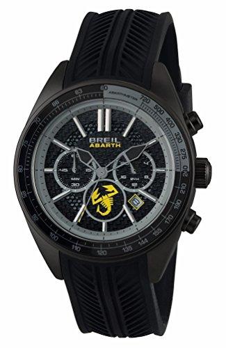 Breil orologio cronografo quarzo uomo con cinturino in silicone tw1694