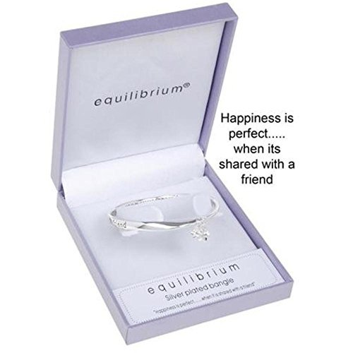 Equilibrium Jewellery - Dangle Flower Friend Bangle by Equilibrium Technologies